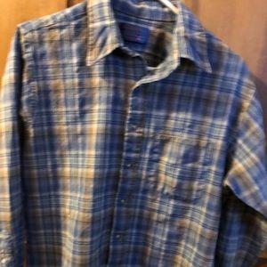 Vintage Sir Pendleton 100% Wool Great Plaid Shirt